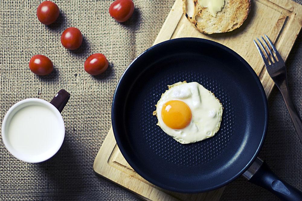 健康的な朝食