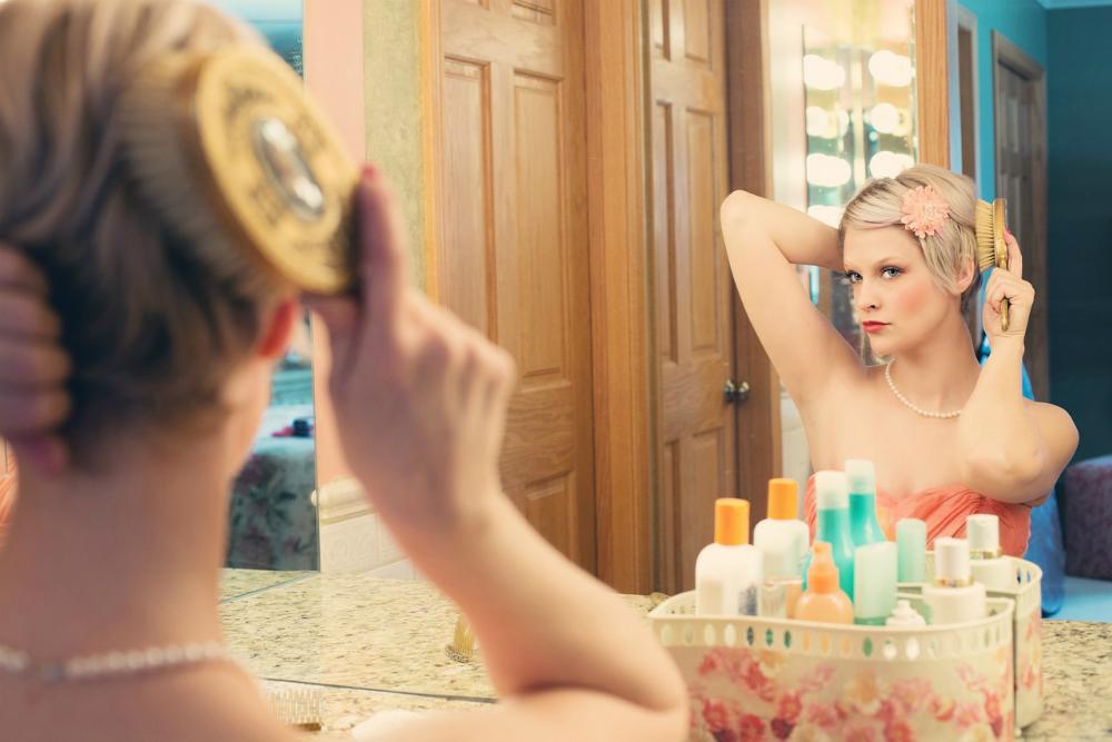 美容を気にする女性