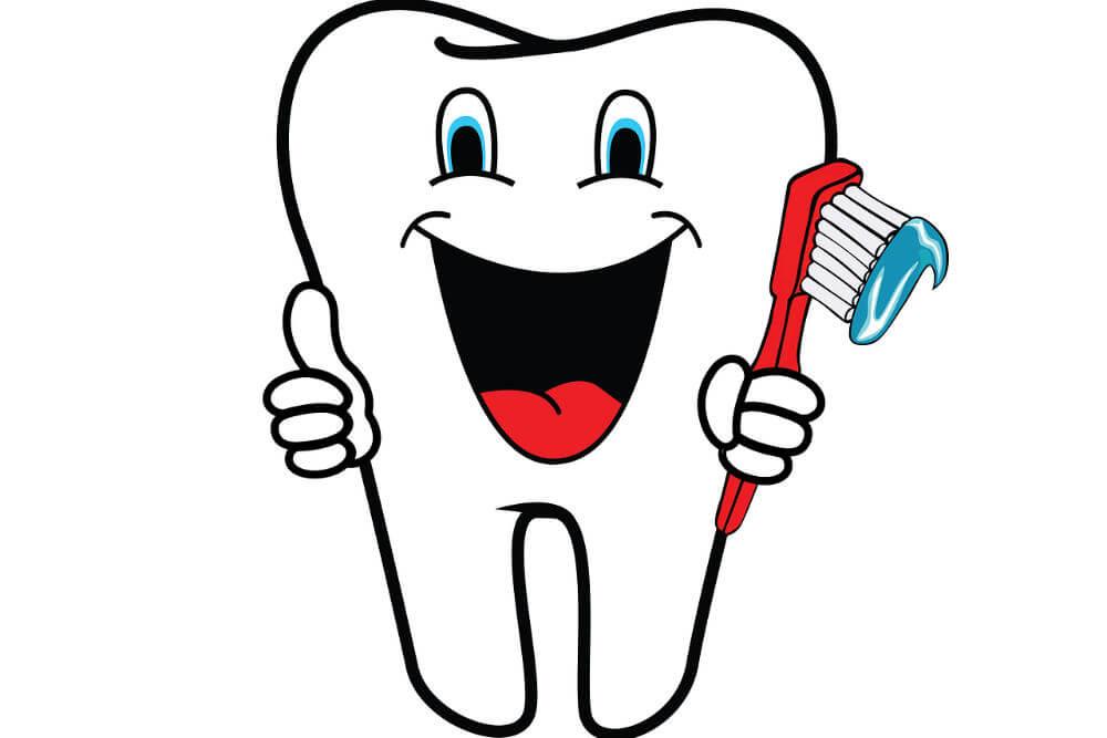 歯のキャラクター