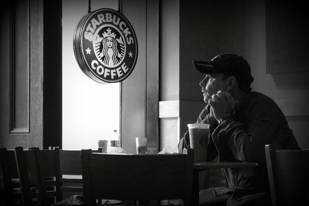 スターバックスでのコーヒータイム